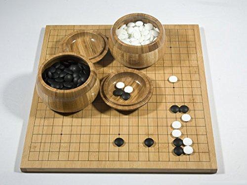 Go-Spiel: Bambus-Klappbrett-Set, gedruckte Linien
