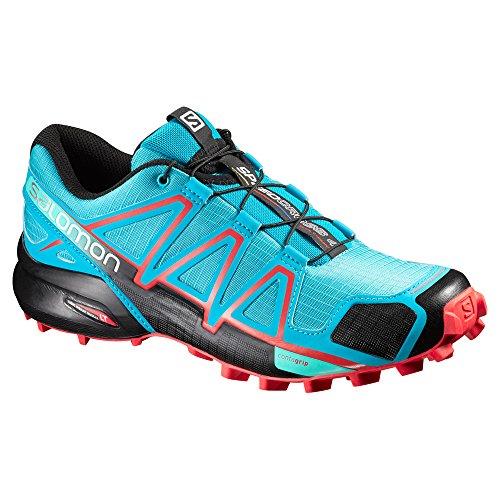 Salomon Speedcross 4, Chaussures de Trail Femme blue