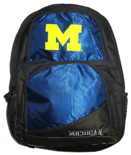 Forever Collectibles NCAA Michigan Wolverines High End Rucksack, eine Größe, blau -