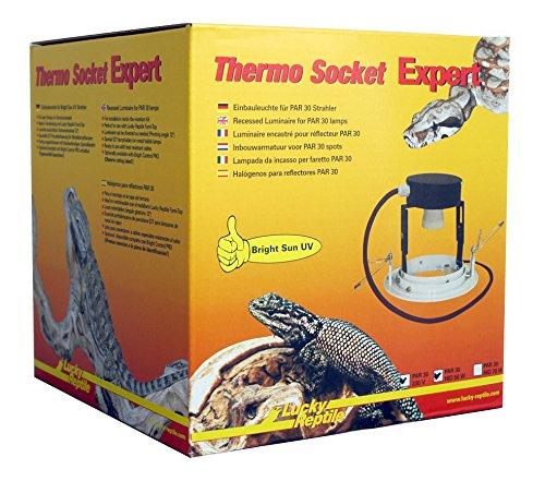 Lucky Reptile TSE-00 Thermo Socket Expert, Einbauleuchte (Sun Uv Bright)