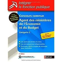 Concours commun Agent des ministères de l'Économie et du Budget