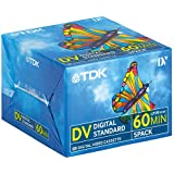 TDK - Pack De 5 Cintas Mini Dv Dvm60 De 60 Minutos