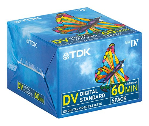TDK DVM-60 MiniDV Videocasetten 5er Pack (Camcorder Digital Dvd)