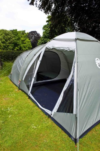 51dKqc6DIjL - Coleman Waterfall 5 Deluxe family tent, 5 Man Tent with Separate Living and Sleeping Area, Easy to Pitch, 5 Person Tent…