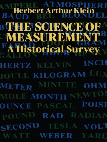 The Science of Measurement: A Historical Survey (Dover Books on Mathematics)
