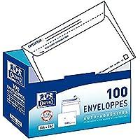 Oxford Correspondance Enveloppes avec distributeur Boite de 100 Blanc