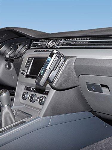 Preisvergleich Produktbild KUDA 1660 Halterung Echtleder schwarz für VW Passat (B8 (3G)) ab 2014 / VW Arteon ab 2017