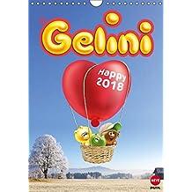 Gelini (Wandkalender 2018 DIN A4 hoch): Knuffiges Geschenk für alle Fans (Monatskalender, 14 Seiten )