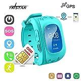 Reloj Inteligente Niños con GPS Smartwatch Niños Llamadas Reloj Deportivo Niño Pulsera de...