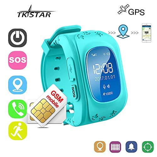 Reloj Inteligente Niños con GPS Smartwatch Niños Llamadas Reloj Deportivo Niño Pulsera...