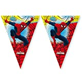 Amscan Ultimate Spiderman Pennant Banner Party Accessory
