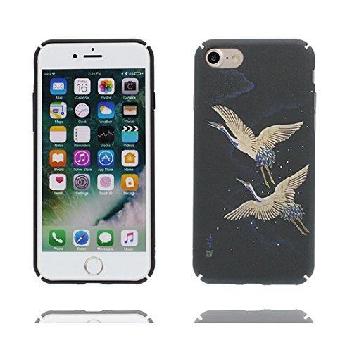 """iPhone 6s Plus Hülle, TPU Dauerhaft Shell für Mädchen iPhone 6 Plus / 6S Plus Handyhülle Cover 5.5"""" Staubdicht - Stars Weltraum Galaxy Planeten Schwarz 2"""