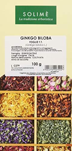 Ginkgo Biloba Foglie Taglio Tisana - 100 g - Prodotto made in Italy