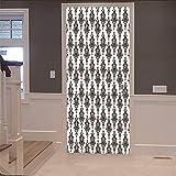 Niazhy 3D Durch Aufkleber Schwarzlicht Einfache Aufkleber Wohnzimmer Schlafzimmer Aus Holz Durch Heimtextilien Selbstklebende Wandaufkleber Pvc Wandbild