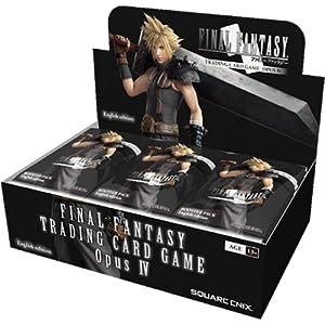 Final Fantasy squffop4Opus 4Amplificador de Trading Tarjetas Caja de 36Paquetes