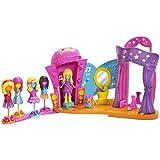 Mattel Y6715 Quick Change Modebühne - Muñeca Polly Pocket (incluye escenario y muchos accesorios)