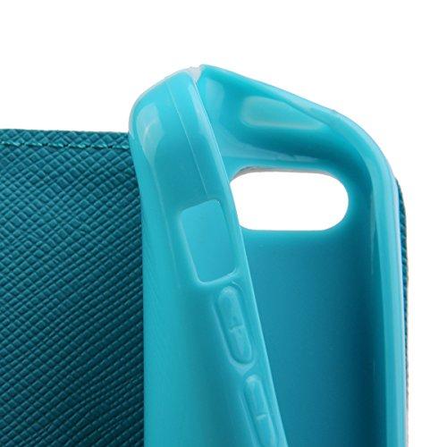 Felfy Iphone 5C Cover, Iphone 5C Custodia, Magnetico Portafoglio PU Pelle Flip Custodia Caso Elegante Borsa Protettiva Stand Case Cover Supporto rigido per Apple iPhone 5C con Free Pellicola Schermo & modello#23