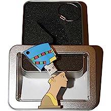 Souvenir Berlin Nofretete | Geschenkidee: USB-Stick mit Schlüsselanhänger in Form der Königin Nofretete für Frauen u. Männer | inklusive Fotogalerie von Berliner Sehenswürdigkeiten | Memory Stick 2 GB | CultourStix