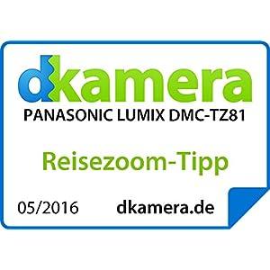 Panasonic LUMIX DMC-TZ81EG-K Travellerzoom Kamera: Amazon