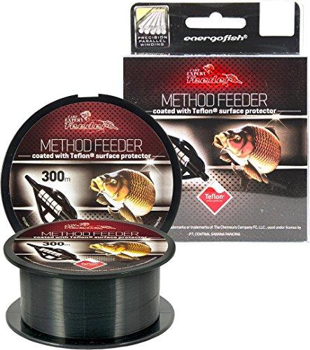 Carp Expert Method Feeder Teflon Schnur 300m 0,28mm 9,22kg Monofile Schnur Mono Feederschnur