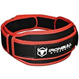 Ceinture de Levage - Neoprene Haute Performance - Support au Dos Optimal et Tres Leger pour Fitness, Musculation, Crossfit et Halterophilie (Moyen)