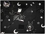 EZ Slumber Travel Blackout Curtains- Room Darkening Shades - Portable and Easy to Install to a Window with Str