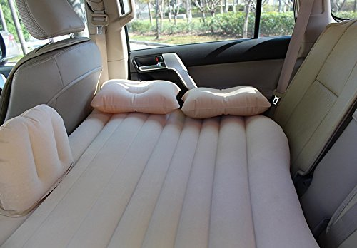Outdoor Inflatable Travel Air Sofa Car Bed Inflatable Mattress Camping Pad Car Rear Seat Sofa