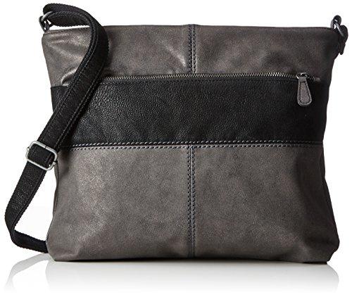 s.Oliver (Bags) - 39.712.94.4502, Borse a spalla Donna Nero (Black/schwarz)