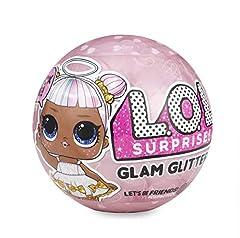 Idea Regalo - Giochi Preziosi LOL Surprise Glitter, Sfera con Mini Doll a Sorpresa, 7 Livelli, Modelli Assortiti, 1 Pezzo