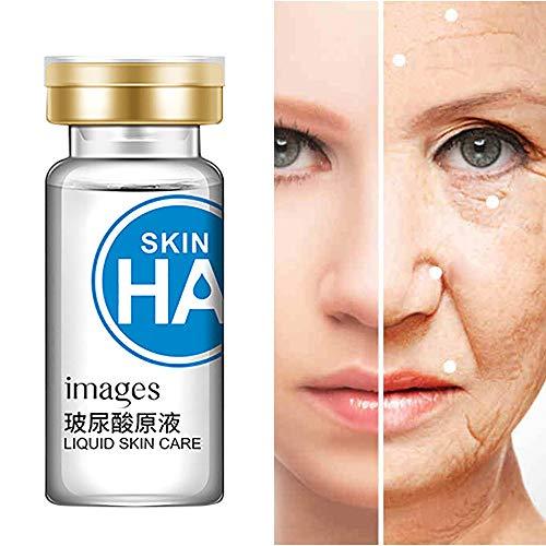 Cooljun Bio Sérum Visage avec Acide Hyaluronique Pur et Vitamine C de Qualité Supérieure - Traitement Anti-âge - Hydratant et Illuminant pour le Visage - Sérum Anti-rides et anti-taches