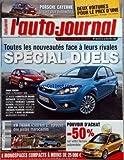 AUTO JOURNAL (L') [No 739] du 06/12/2007 - toutes les nouveautes face a leurs rivales...
