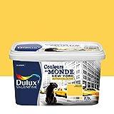 Dulux Valentine 5254032 Farben der Monde-Edition Collector Einstrichfarbe, alle Innenräume, New York Expression (Gelb), 2,5 l