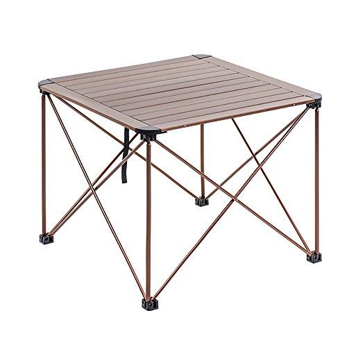 HAKN Klapptisch / Portable Esstisch im Freien / Aluminiumlegierung Klapptisch / Home Multifunktionstisch ( Farbe : B , größe : 69*69*56CM ) -