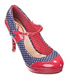 Banned Apparel Dancing Days Betty Vintage 50s Style Pumps Rockabilly Heels