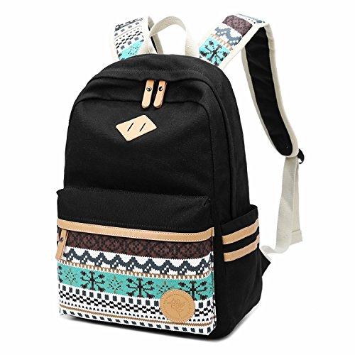 Imagen de chereeki  de lona casual  bolsa de viaje bolso del ordenador portátil para teenage girls boys