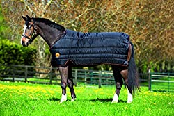 Horseware Rambo Ionic Liner 100g Unterdecke Black/Orange wählbare Größen (140)