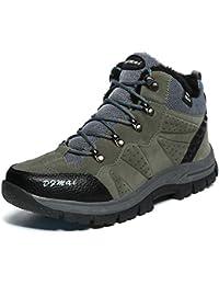 Zapatillas de Senderismo Impermeables Aire Libre Botas de Senderismo Zapatos de montaña para Hombre y Mujer