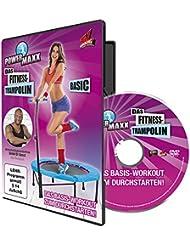 TV unser Original Trainings DVD Power Maxx Fitness Trampolin Basic, 00171
