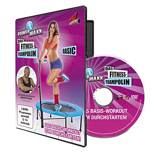 TV unser Original Trainings DVD Power Maxx Fitness Trampolin Basic, 00171