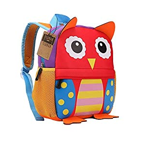 51dL823L0YL. SS300  - Mochila para niños, Animal Mochila Escolar TEAMEN® Toddler Kids Mochila Escolar para niños pequeños, Mochila para 2-5 años (Jirafa)