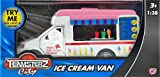 Teamsterz Ice Cream Van Truck Toy - Light And Sound Musical Vehicle