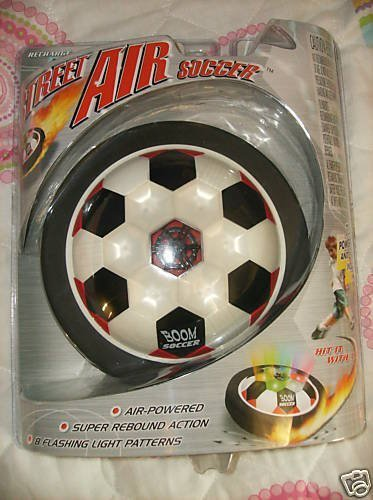 Street Air Soccer Air-Powered Toy by Virtual Video by Virtual Video -