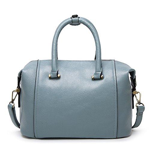 Mefly Borse Moda Fashion Spalla Noble Black Blue