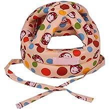 Eizur Unisex Bebè Cappello Protezione della Testa Casco Traspirante Bambini  Sicurezza Cappello Resistenza goccia Berretto Copricapo fd2d169f9a8f