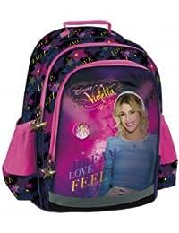 Preisvergleich für Disney Rucksack Scolaire Kinder Violetta–Qualität oben