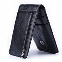 To Be a Better Belt Bag For a belt bag, can just hold a phone of course is good, but undoubtedly can hold more than a phone is better! Now it is! Our genuine leather phone bag can hold credit card, money, receipts or other little items other ...