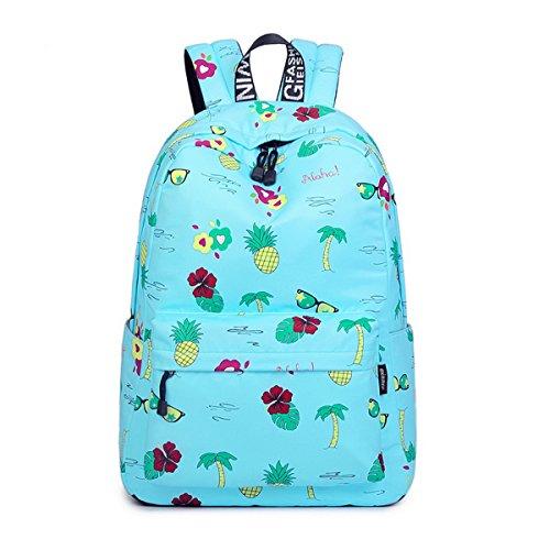 Imagen de acmebon  escolar unisex y de ocio impermeable  cartera escolar para niñas y niños con lindo estampado agua