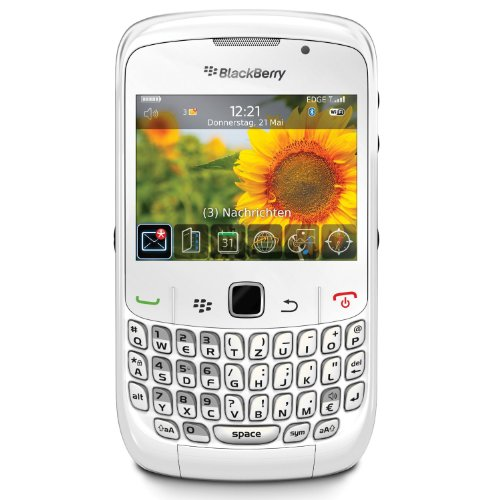 BlackBerry Curve 8520 Smartphone (QWERTZ, Bluetooth, 2MP Kamera, Push-Service) weiß - Blackberry Curve Headset