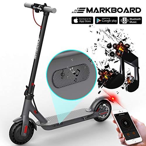 MARKBOARD Trottinette Electrique Pliable, Electric Scooter Batterie Longue Portée avec APP et...