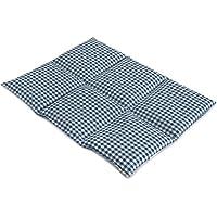 Bio-Dinkelkissen groß 40x30 | 6-Kammer | blau-weiß | Wärmekissen Körnerkissen preisvergleich bei billige-tabletten.eu